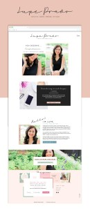 Beautiful life coach website templates on the Showit5 platform! This template is excellent for coaches, consultants, educators, and personal brand businesses.