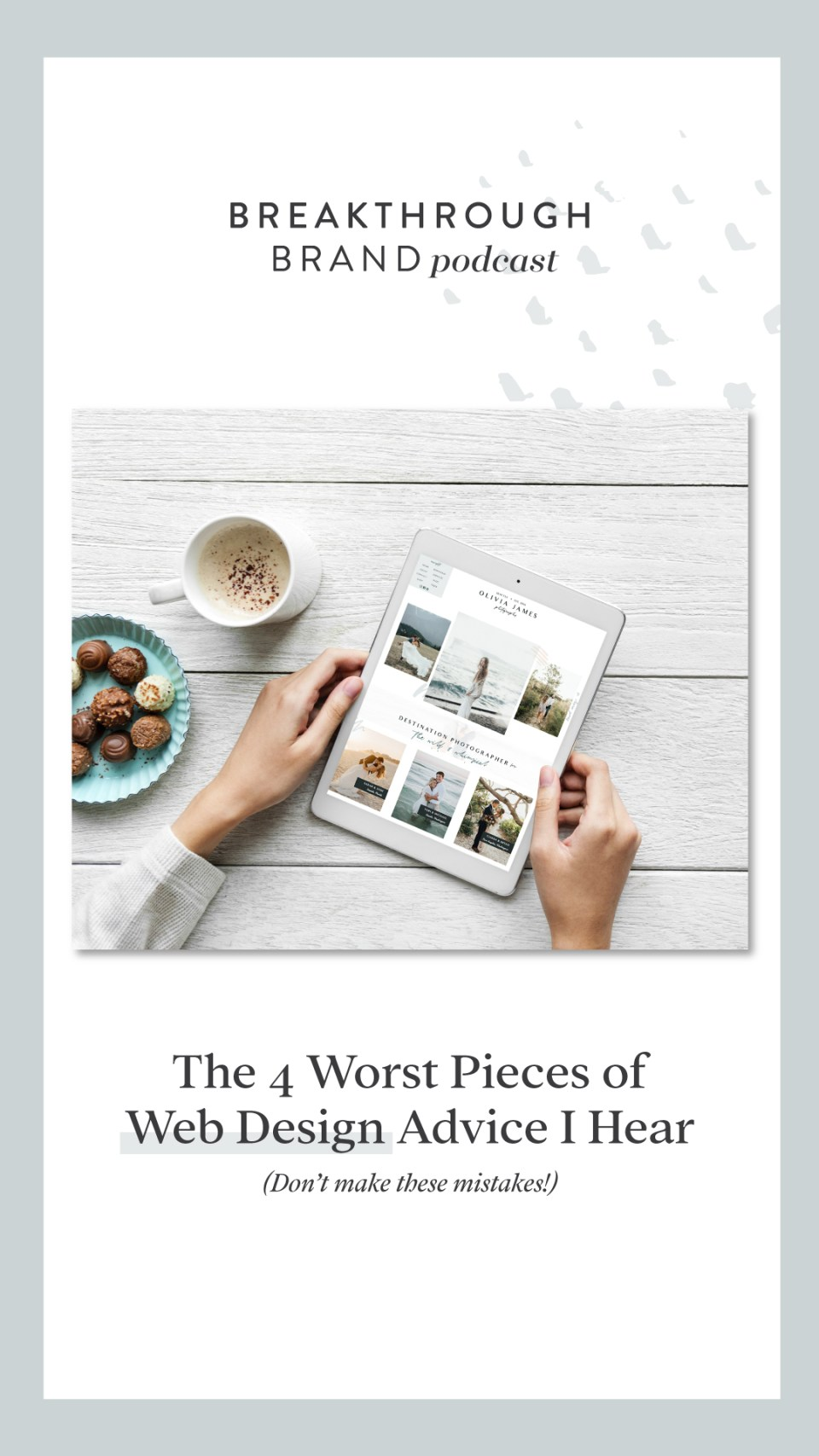 The Worst Pieces of Website Design Advice You'll Hear! Be sure to not make the mistake of following these tips!