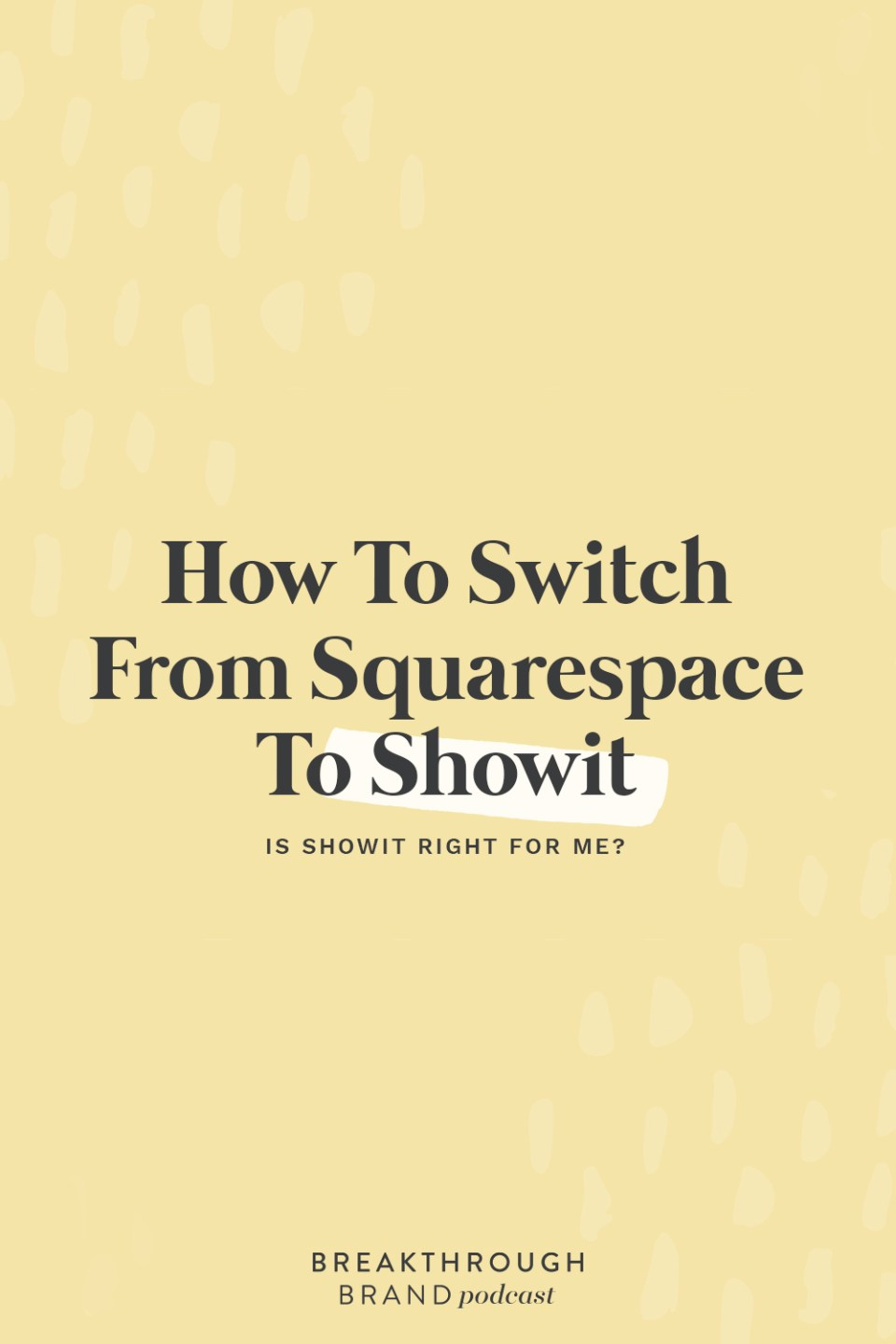 Learn how to switch from Squarespace to Showit and find out which is right for you.
