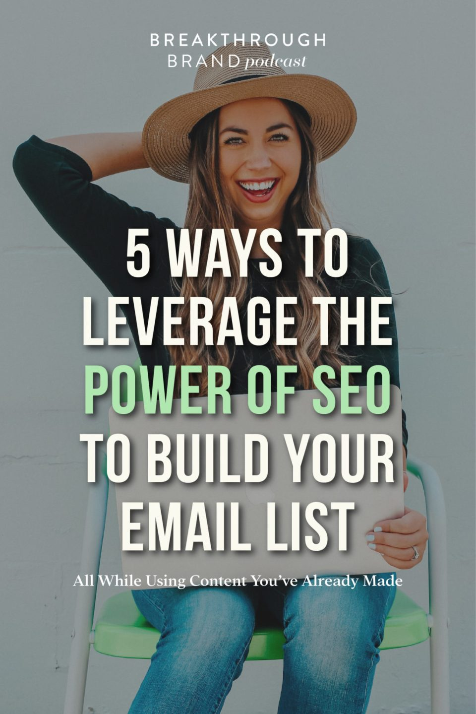 Leverage the power of SEO to build your email list with these 5 tips!