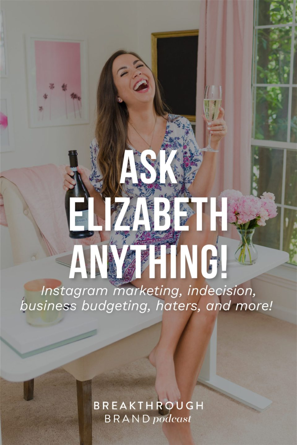 Elizabeth is answering your questions about Instagram marketing, indecision, haters, business budgeting and more on the Breakthrough Brand Podcast.