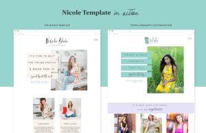 EM Shop template customization by Trisha Leonard using the Nicole Showit template for photographers designed by Elizabeth McCravy.