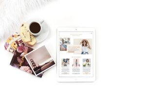 Stephanie Kase, educator and photographer using the Jena Showit website template from EM Shop.