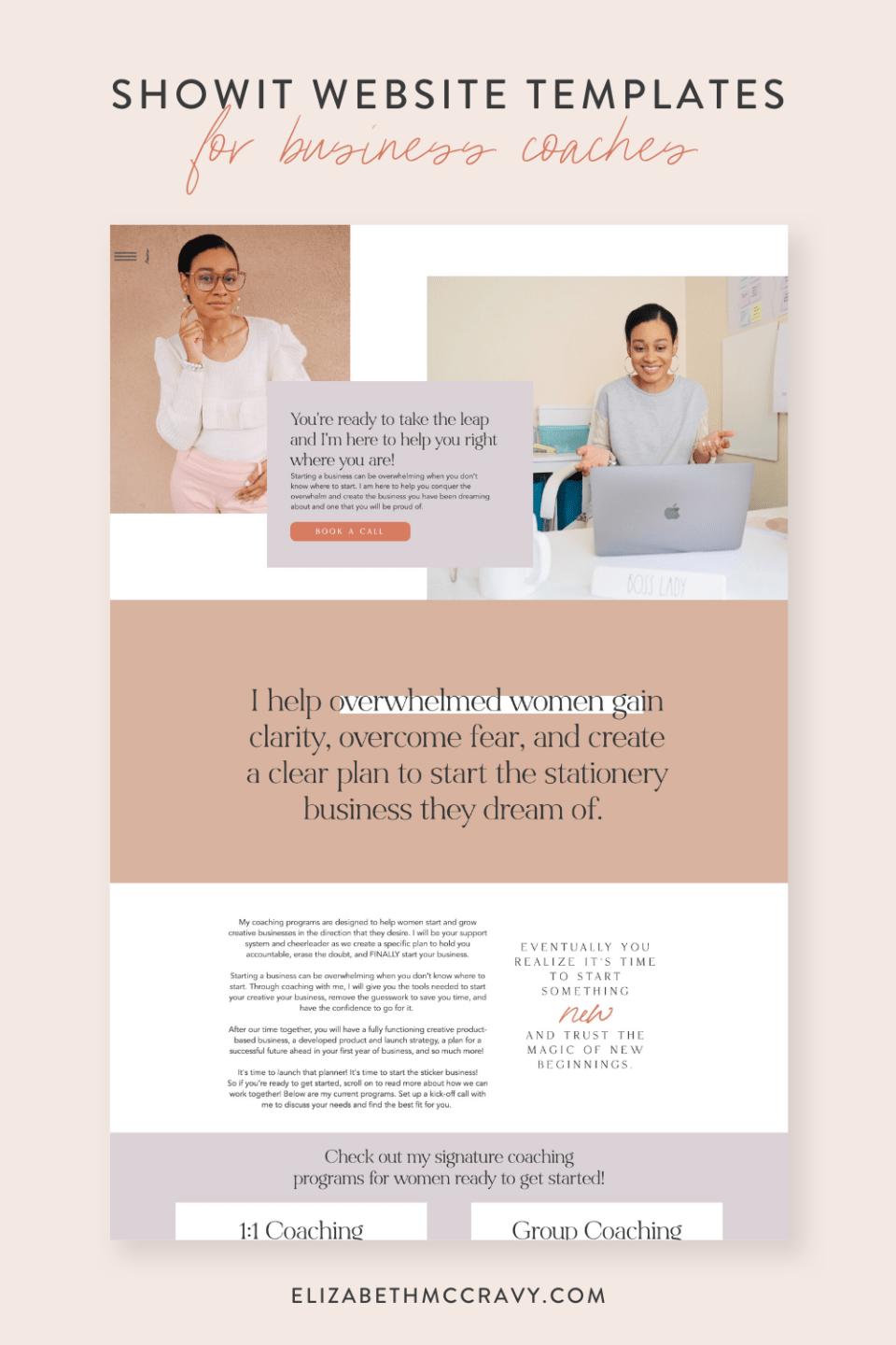 Visit Tatiana Muse's new website customized from an EM Shop template.