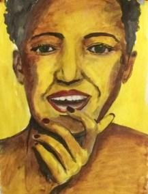 grisaille portrait