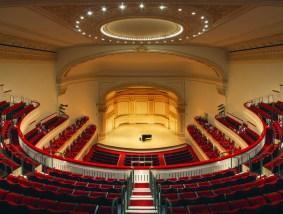 foto interior del Carnegie Hall