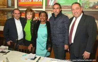 foto con líderes comunitarios