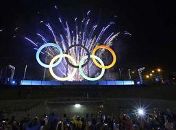 foto de los anillos olímpicos
