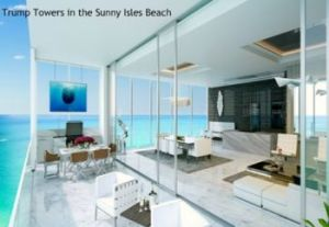 foto Trump Towers in the Sunny Isles Beach