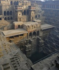 This image is the reference photo for the Relational Architectural project. Chand Baori is a famous stepwell situated in the village Abhaneri near Jaipur in Indian state of Rajasthan. This step well is located opposite Harshat Mata Temple and is one of the deepest and largest step wells in India. It was built in 9th century and has 3500 narrow steps and 13 stories and is 100 feet deep. It is a fine example of the architectural excellence prevalent in the past.