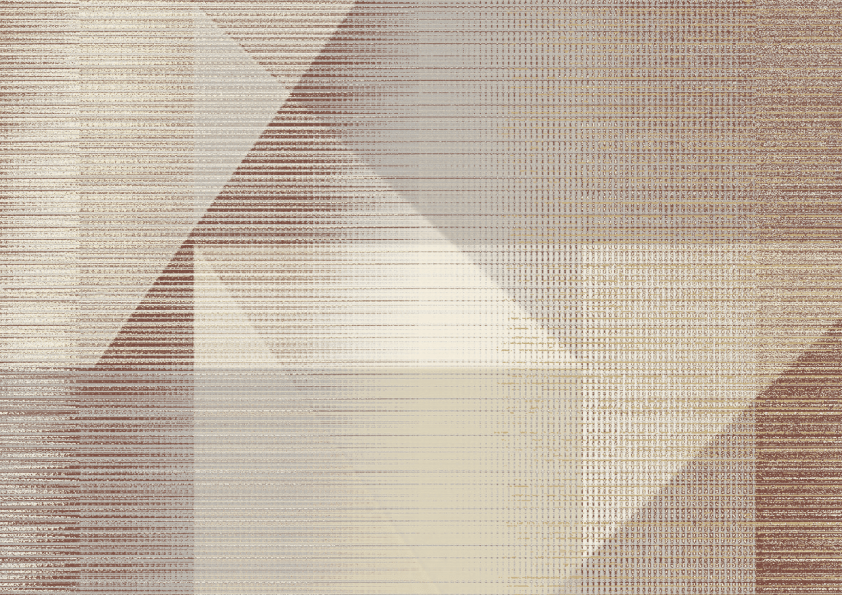 Butia geometric wallpaper Neutral/Wine, W-01094