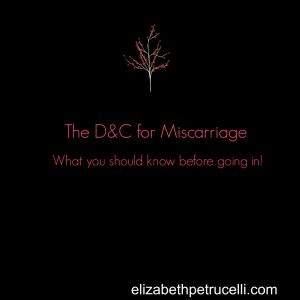 early miscarriage – Elizabeth Petrucelli
