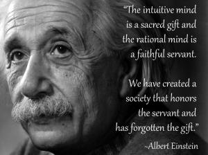 Albert-Einstein-Intuition-Quote-Bob Samples
