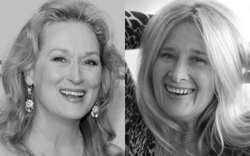Meryl Streep and Elizabeth Richardson
