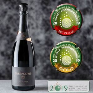 An award-winning English Sparkling Wine for a celebration