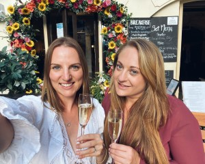 Elizabeth Rose Wines co-founders Becky Glover and Sara Thake