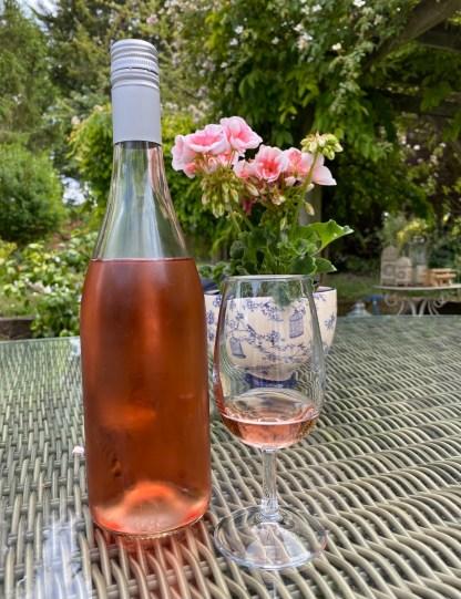 A stunning English rosé