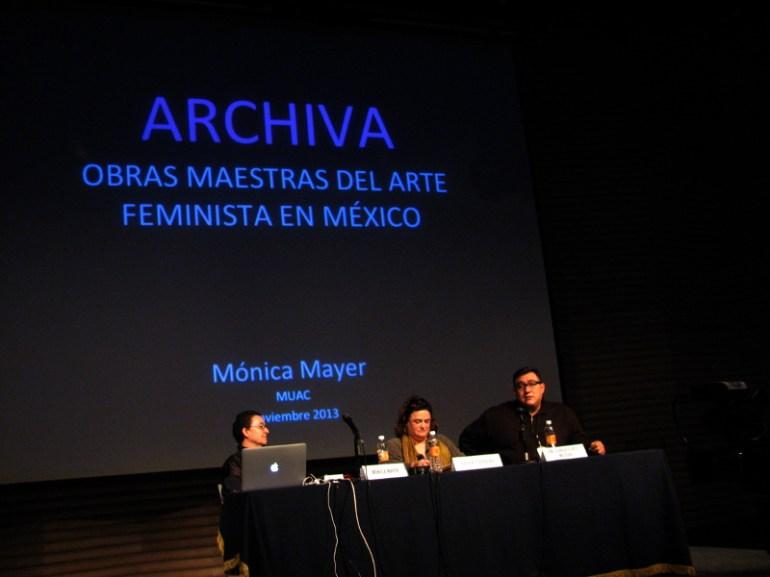 Mónica, Karen Cordero y Cuauhtémoc Medina