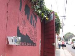 el mural fuera de mi casita en Morelia