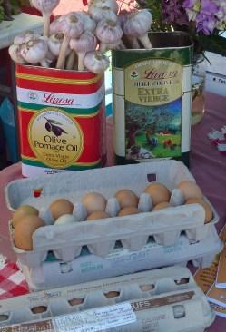 … eggs …