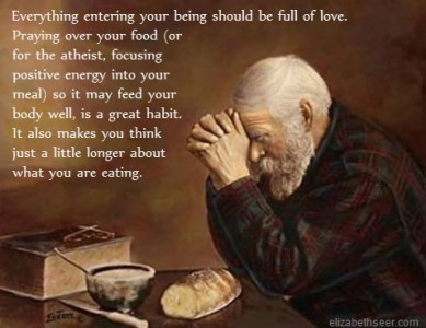Boost Your Food With Prayer