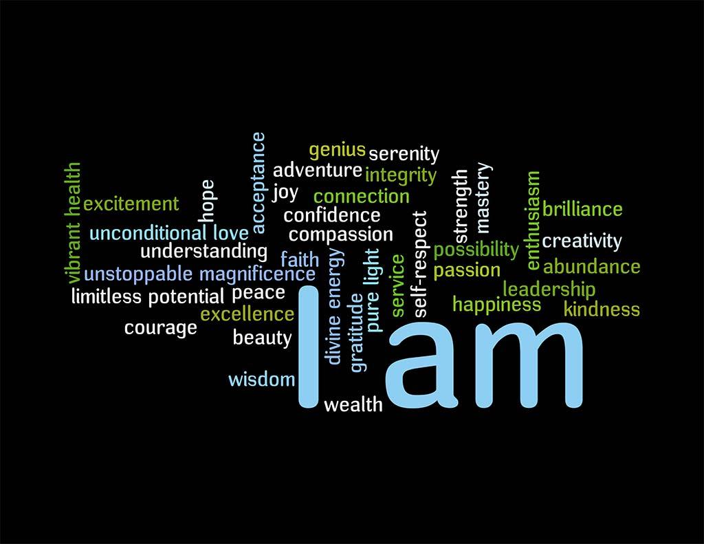 I am, Possibilities, Inspire, Motivate, Hope, Love, Self-Love, Magnificient
