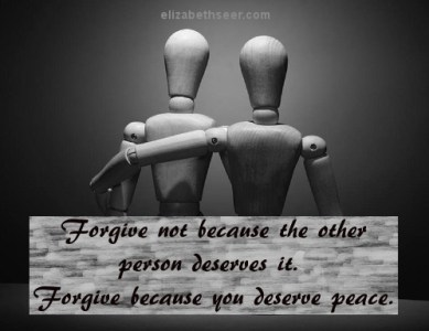 Forgiveness is for the Forgiver