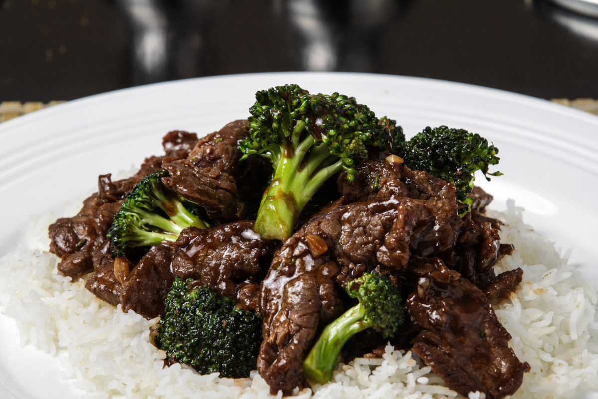Szechuan Beef with Broccoli