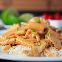 Thai Peanut Curry Chicken