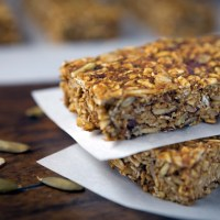Healthy Pumpkin Granola Bars