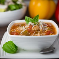 Turkey Stuffed Pepper Soup