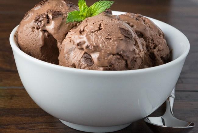 Chocolate Peanut Butter Fudge Frozen Yogurt