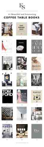 How To Style Your Home 21 Beautiful Coffee Table Books Elizabeth Street Post