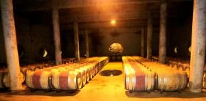 Cellar at Vignobles des Verdots