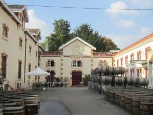 Krug premises in Reims