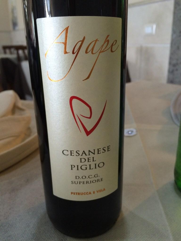 Cesanese wine from Lazio