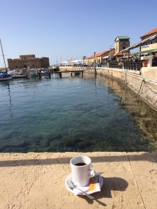Coffee at the Port, Paphos