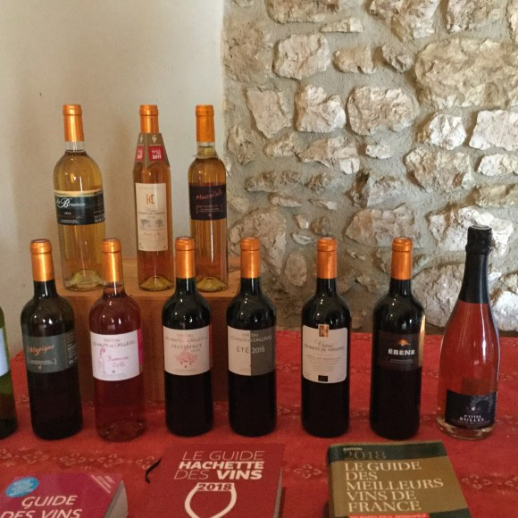 The Suite of wines from Château les Hauts de Caillevel