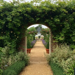 Another view of the walled garden at Osborne House, East Cowes