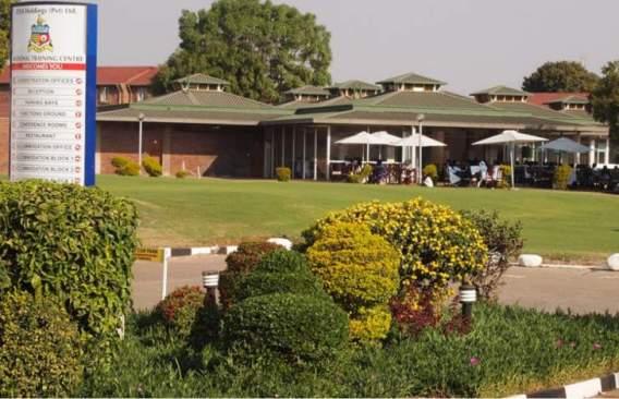 The beautiful ZESA Training Centre