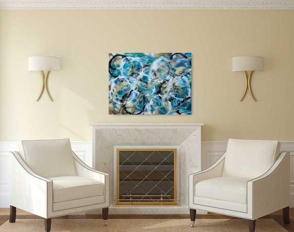 """""""Blue Thoughts"""" is Art You Love by Elizabeth Traub"""