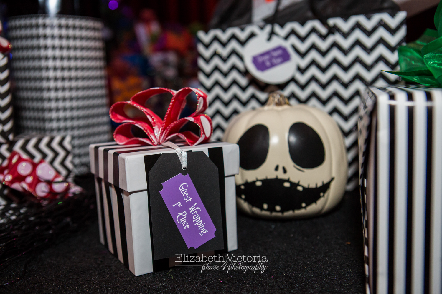 Queen Mary Long Beach Nightmare Before Christmas Wedding - Elizabeth ...
