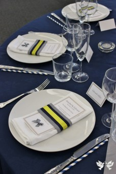 Contemporary Table setting- Elizabeth Weddings