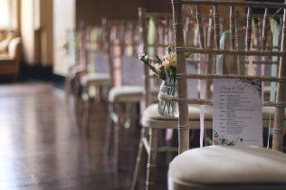 Ceremony chairs- Luke Doyle Photography