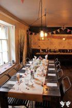 Racks Table Decor- Elizabeth Weddings