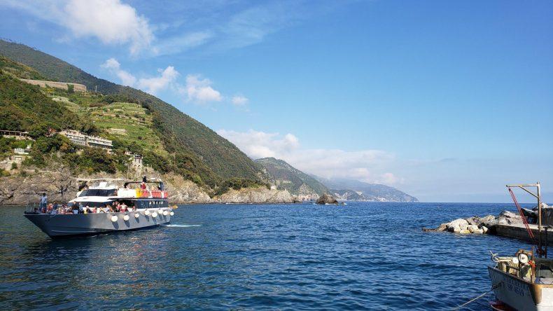 Píer em Monterrosso al Mare, Cinque Terre