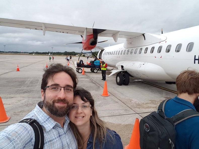 Indo pra Miami. Aeroporto da Guatemala. Segundo trimestre de gravidez. Babymoon