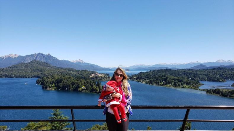 Vista bonita. Bariloche, Argentina