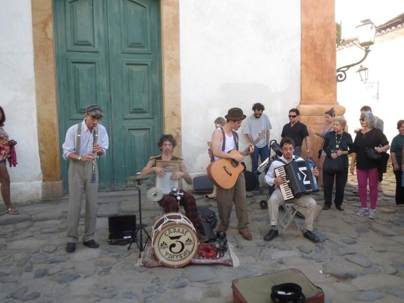 Festival de Jazz pelas ruas de Paraty