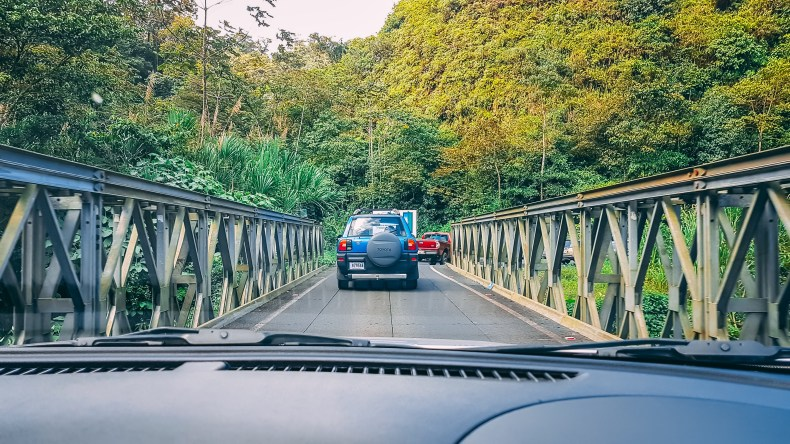 Estrada na Costa Rica